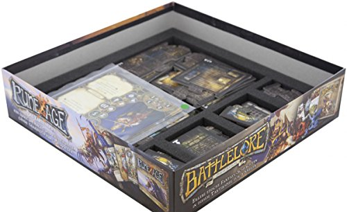 Feldherr Foam Tray Set for Descent: Journeys in The Dark 2nd Edition - Labyrinth of Ruin Board Game Box