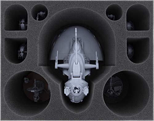 Feldherr FSMEWV135BO Bandeja de Espuma Compatible con la Legión de la Guerra de Las Galaxias: Tanque de Batalla de la Federación de Comercio de la AAT