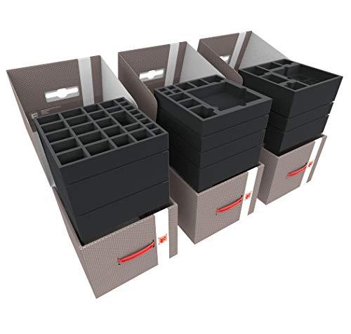 Feldherr Storage Box LBBG250 Paquete Compatible con Mansiones de la Locura 2ª Edición - Juego Básico + 7 expansiones