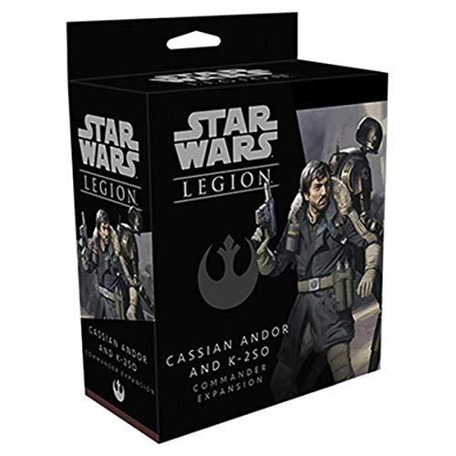 FFG Star Wars: Legion - Cassian Andor and K-2SO Commander Expansion