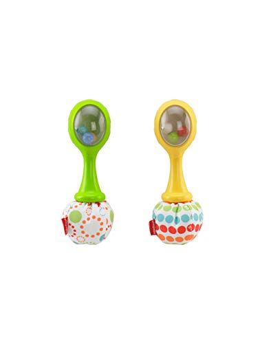 Fisher-Price - Maracas musicales - juguetes bebe - (Mattel BLT33)