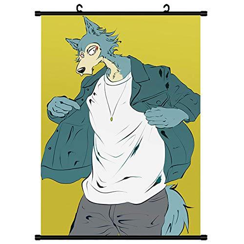 FPRW® Rompecabezas de Madera, Rompecabezas de 1000 Piezas de Dibujos Animados Mr. Cool Wolf, Rompecabezas de Dibujos Animados Grande Juego Educativo Intelectual Regalo difícil y desafiante
