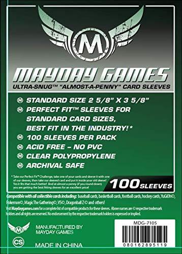 "Fundas Mayday - UltraSnug (Verde - 2 5/8""x 3 5/8"")"