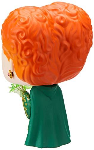 Funko- Pop Figura de Vinilo: Disney: Hocus Pocus-Winifred w/Magic Coleccionable, Multicolor, Estándar (41524)