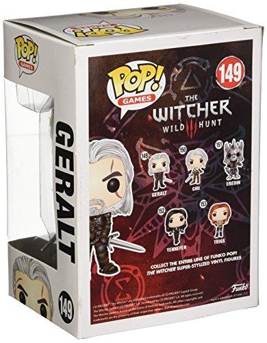 Funko Pop!- Geralt Figura de Vinilo, colección de Pop, seria The Witcher (6366)