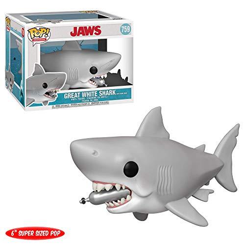 """Funko- Pop Vinilo 6"""" Jaws w/Diving Tank Figura Coleccionable, Multicolor, Estándar (38567)"""