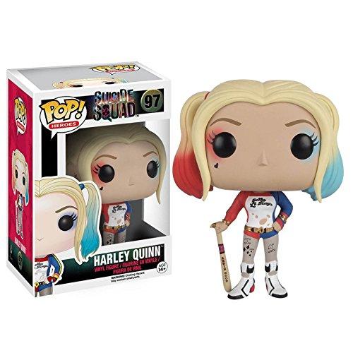 Funko - POP! Vinilo Colección Escuadrón suicida - Figura Harley Quinn (8401)