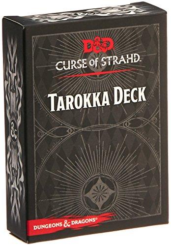 Gale Force Nine gf973706–de Tablero Dungeons y Dragons: tarokka Deck–Curse of strahd