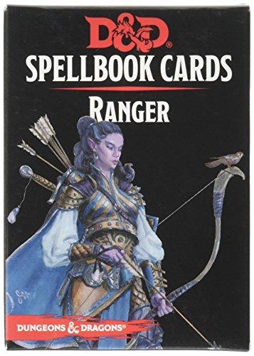 GaleForce nine 73920D & D: Tarjetas de Libro de hechizos: Ranger Cubierta