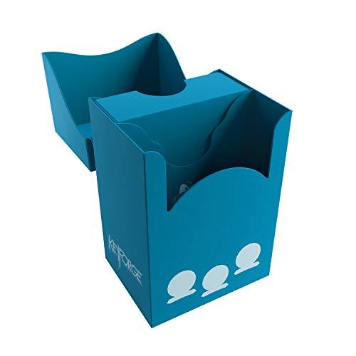 GAMEGEN!C- Keyforge Gemini Blue Deck Box, Color Azul (GGS25005)