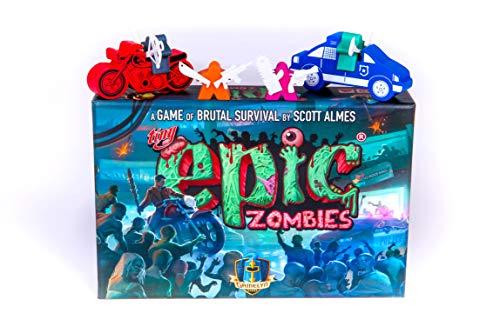 Gamelyn Games GSTGMGTEZ Zombies épicos pequeños, colores variados , color/modelo surtido