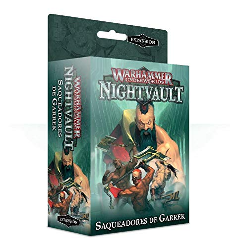 Games Workshop Warhammer Underworlds: Nightvault Saqueadores de Garrek