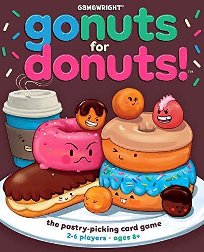 Gamewright Juego de Cartas «Go Nuts for Donuts». Juego de Mesa, 111.
