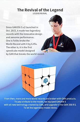 Gan Cube GAN 356 RS Speed Cube World #1 Puzzle