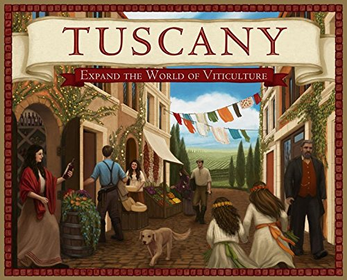 Ghenos Games–Viticulture Tuscany–Expansión, vtts