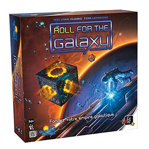 GIGAMIC jroll–Juego de Estrategia–Roll for The Galaxy