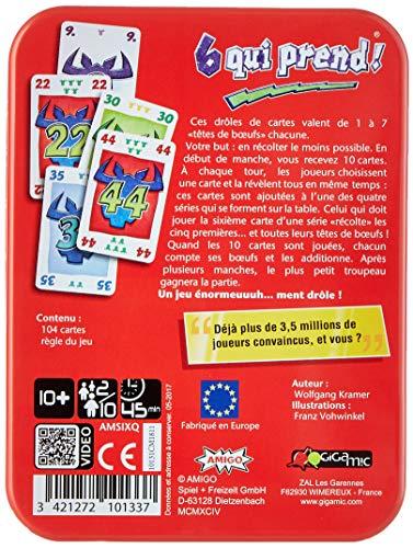GIGAMIC - Juego de Estrategia, de 2 a 10 Jugadores (AMSIXQ) (Importado)