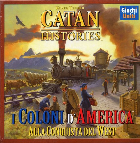 Giochi Uniti Catan Histories: I Coloni d'America - Juego de Mesa (versión en Italiano) [Importado de Italia]