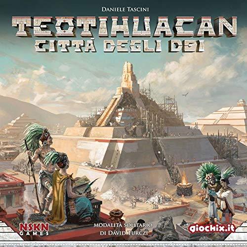 Giochix - Teotihuacan, Multicolor, TTHC