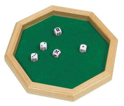 Goki-56954 Juegos de acción y reflejosJuegos educativosGOKICubilete, Color marrón, verde (4013594569545) , color/modelo surtido