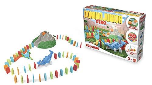 Goliath-81017 Dómino junior Dino volcán (81017) , color/modelo surtido