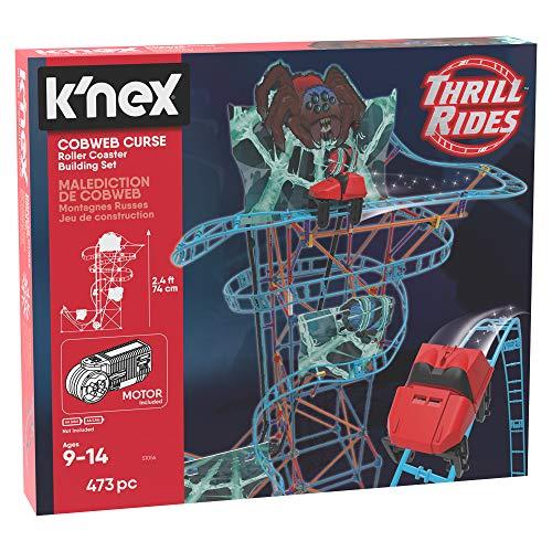 Grandes Juegos gg01737-k' NEX Cobwebs Curse Roller Coaster construcciones Made in USA, Multicolor, gg01737