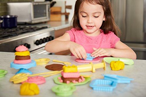 Green Toys- Cake Maker Dough Set Pastelero de Masa, Multicolor, 1 EA (DCM1-1243)