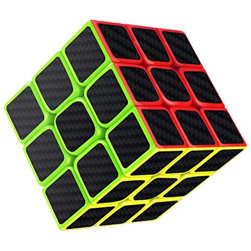 Gritin Cubo Mágico, Cubo de Velocidad 3x3x3 Puzzle Inteligencia Mágico Speed Cubo Rompecabezas y Fácil Giro, Súper Duradero