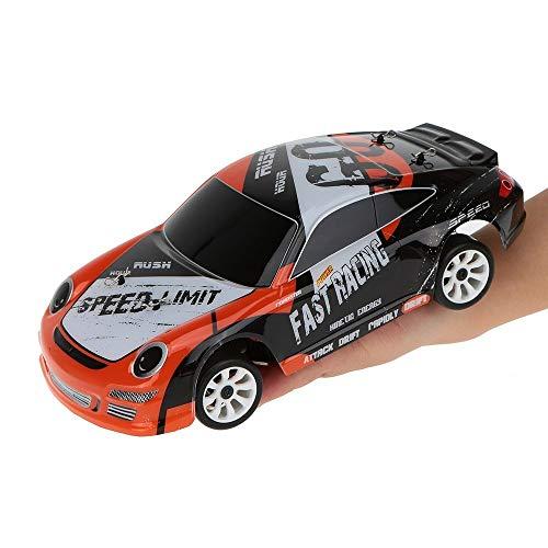 Gxscy A252 1/24 RC Car Racing 4WD Drift Juguetes a Control Remoto del Coche con 7.4V 500mAh batería de Litio RTR Velocidad 35 kilometros de aleación de Materiales Desierto Campo a través Drift Regalo