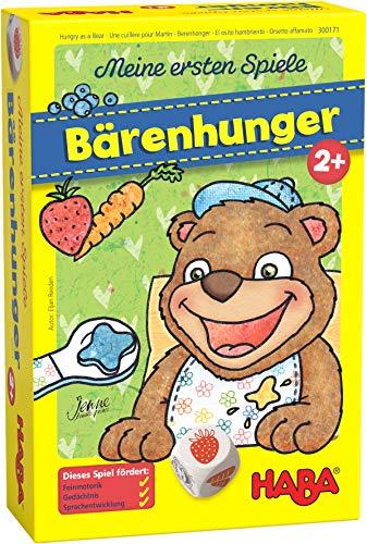 HABA 301257 - Juego de tablero (Boy/Girl, 2 yr(s), German, Simplified Chinese, English, Spanish, French, Beech,Cardboard, Multicolor, 400 g) , color/modelo surtido