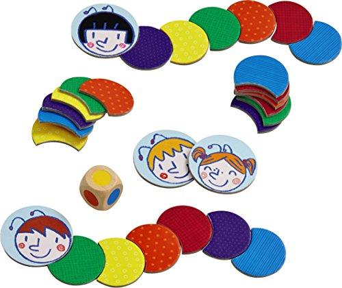 HABA 301418 - Juego de Tablero (Boy/Girl, 3 yr(s), 99 yr(s), German, English, Spanish, French, Cardboard,Wood, Multicolor)