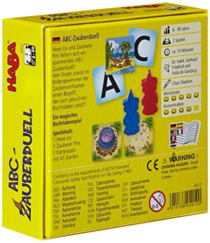 HABA 4912 ABC - Juego Educativo con Letras (en alemán)