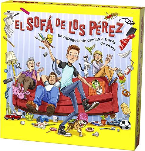 HABA- Juego de Mesa, El Sofá de los Pérez, Multicolor (Habermass H304917)
