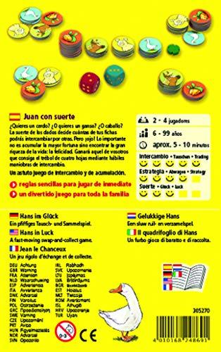 Haba Juego de Mesa Juan con Suerte-ESP, Multicolor (H305270)