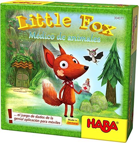 HABA- Juego de Mesa, Little Fox - Médico de Animales, Multicolor (Habermass H304071)