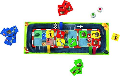 Haba Juego de Mesa Parada en Boxes-ESP, Multicolor (H305263)