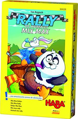 HABA- Juego de Mesa, Rally de Animales Mix MAX, Multicolor (Habermass H304329)