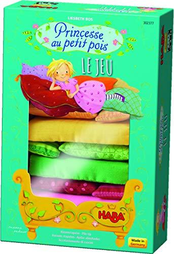 HABA - Juego «Princesse au Petit Pois» (La Princesa y el Guisante - 302377