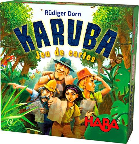 HABA- Karuba - Juego de Cartas 303475, Colorido