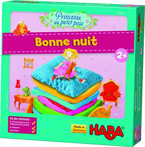 HABA–Mis Primeros Juegos Princesa y el Guisante Bonne Nuit, 302336