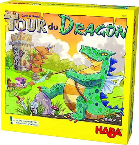 HABA- Tour du Dragon Un Juego cooperativo para los héroes sin Padre de 5 a 99 años (Made in Germany), 302648