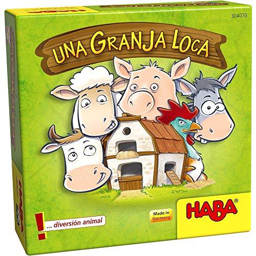HABA-Una Granja Loca, Multicolor (Habermass 304070)