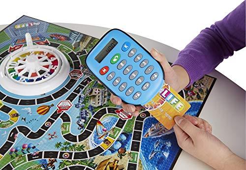 Hasbro El Juego de la Vida con Banco electrónico