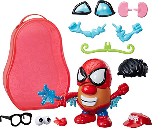 Hasbro Friends Mr. Potato Head Marvel - Maleta Papa Araña - Figuras de Juguete para niños (Multicolor, 2 año(s), Niño/niña, Cómics, Acción / Aventura, 139,7 mm)