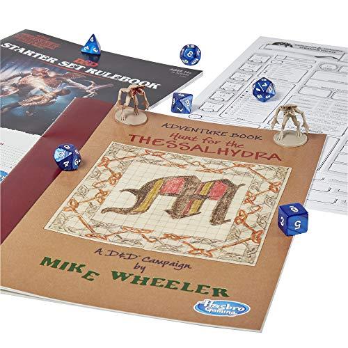 Hasbro Gaming Dungeons & Dragons Stranger Things E3702102, Juego de Iniciación Multicolor, [Versión en Idioma Inglés]