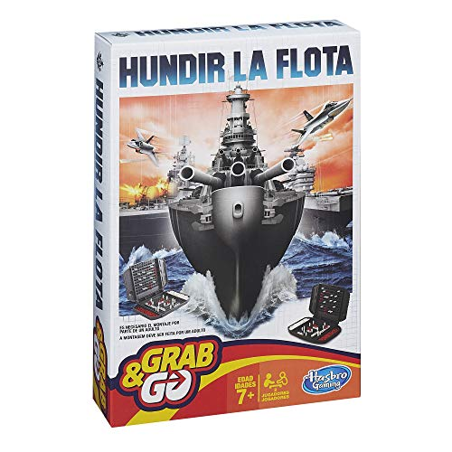 Hasbro Gaming Gaming Travel Hundir la Flota Viaje (Hasbro Spain B0995175)