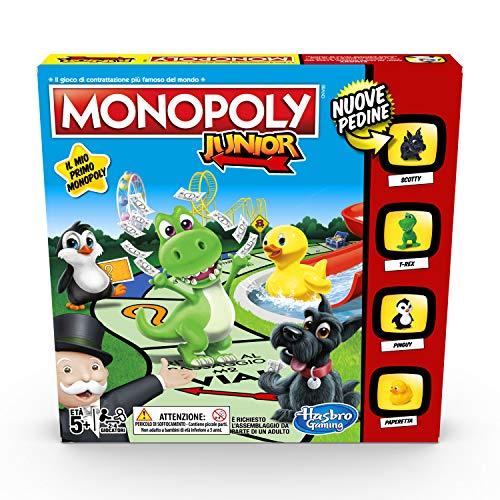 Hasbro Gaming Monopoly – Junior, edición para niños, Versión italiana