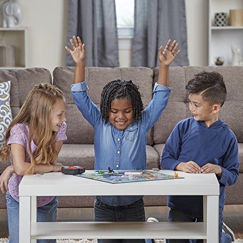 Hasbro Monopoly Junior Electronic Banking - Juego de tablero (Simulación económica, Niño/niña, 5 año(s), 99 año(s), AAA)