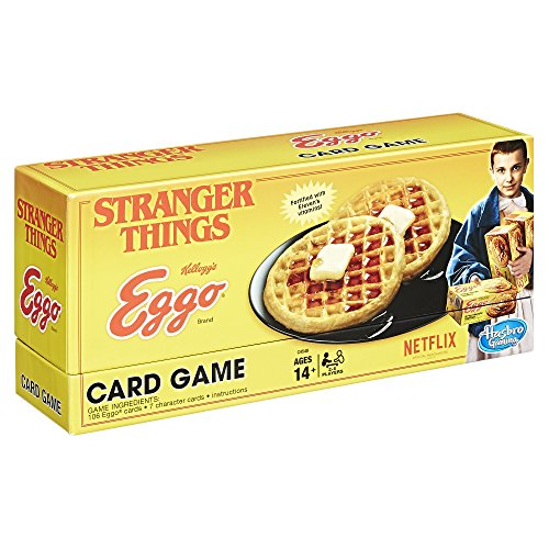 Hasbro Stranger Things Eggo Naipes