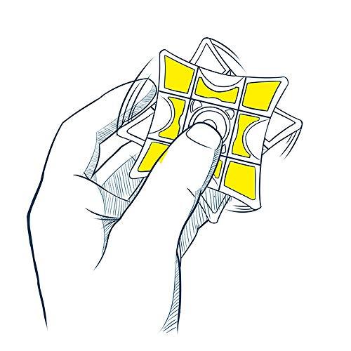 HBBOOI Fidget Spinner 1x3x3 Floppy Rompecabezas del Cubo de la Mano Spinner Spinner Tiempo de muertes del estrés aliviar la ansiedad Reliever Juguetes for Adultos y Niños Decoración de Regalos